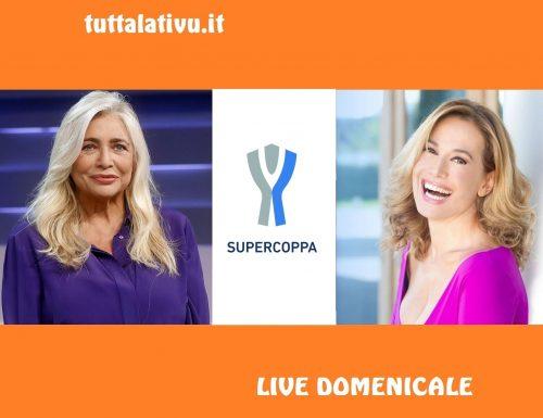 Live 22 dicembre 2019: #DomenicaIn e la #SupercoppaItaliana (su Rai 1) vs #DomenicaRewind (su Canale 5)