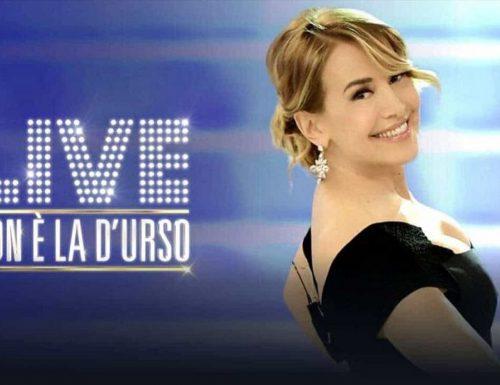 Live lunedì 2 dicembre 2019: #NoneLaDUrso, con Barbara D'Urso (Canale5)