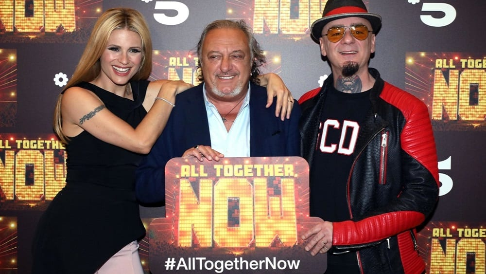 Live giovedì 2 gennaio 2020: AllTogetherNow la finale