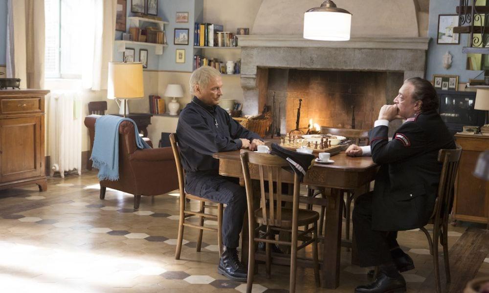 Fictionerò: Don Matteo 12 prima puntata. Con con Terence Hill