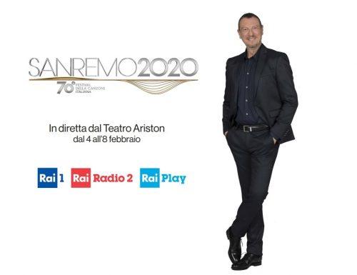 Live martedì 4 febbraio 2020: Festival di #Sanremo2020, prima serata, con Amadeus, dall'access prime time su Rai1