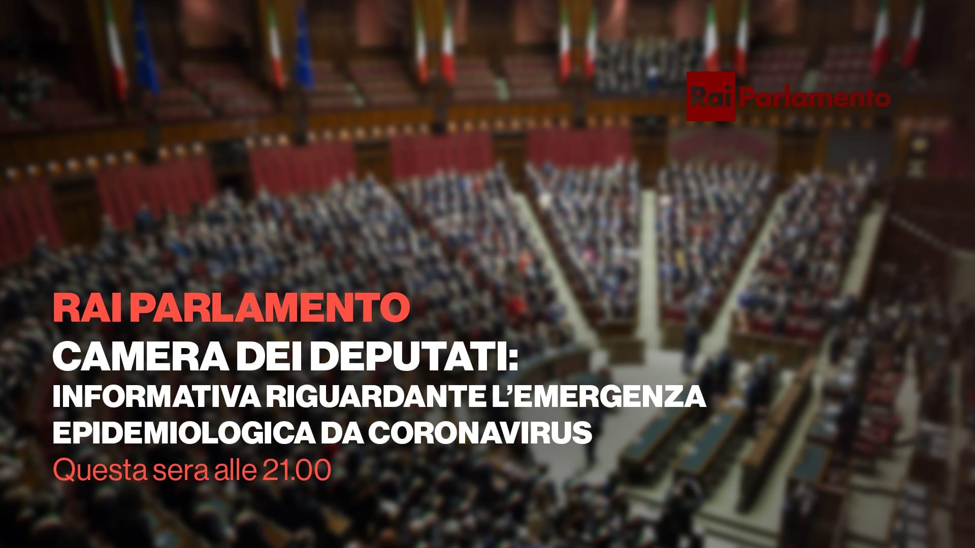 TuttalaTivu · GuidaTV 26 Febbraio 2020 · Mercoledì: Irrompe lo speciale di Rai Parlamento sul coronavirus, tra Chi Vuol Essere Milionario e Chi l'ha visto