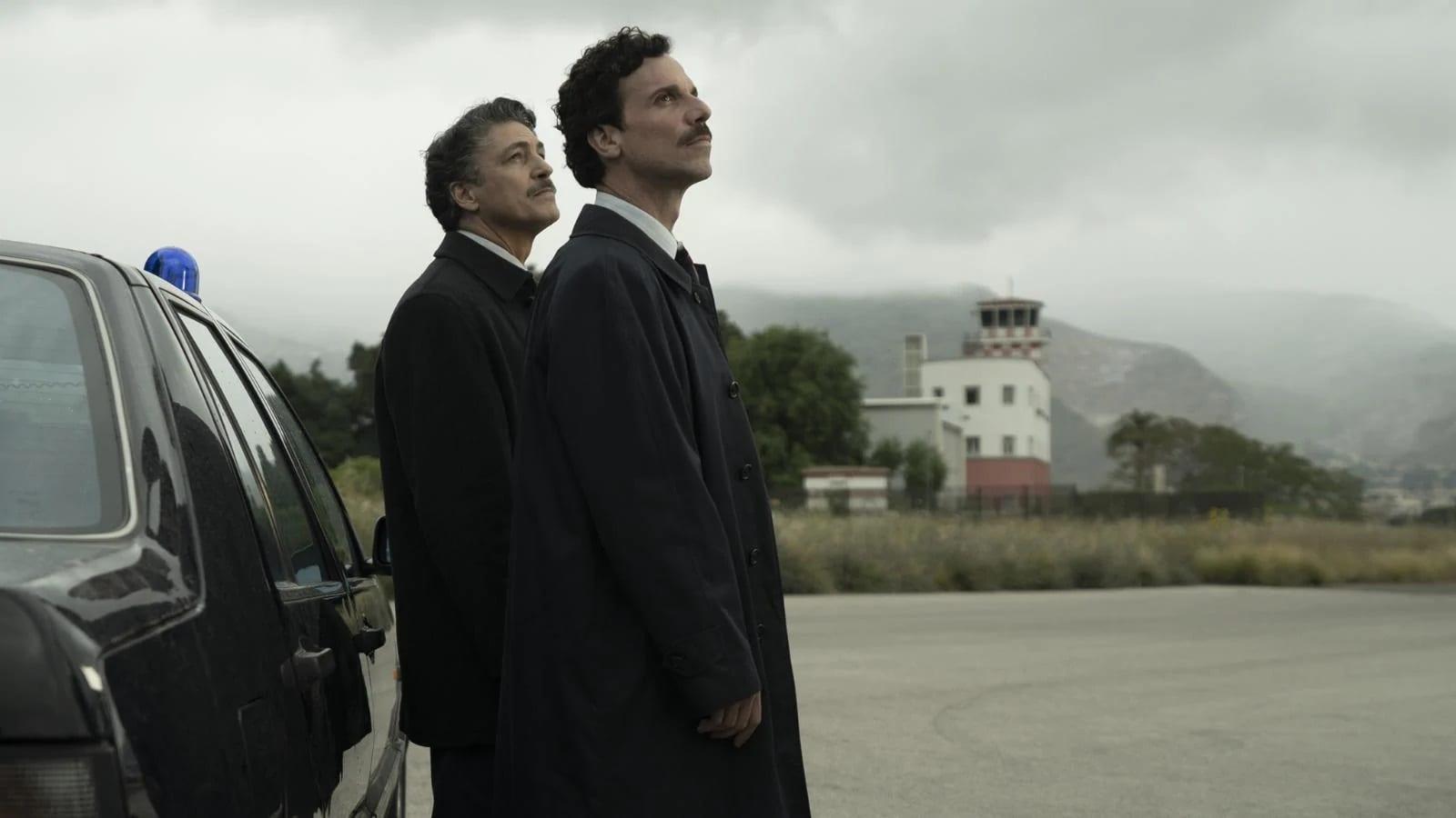 Il Cacciatore – Seconda Stagione seconda puntata. Con Francesco Montanari, su Rai 2. Una coproduzione Cross Productions, BetaFilm e Rai Fiction