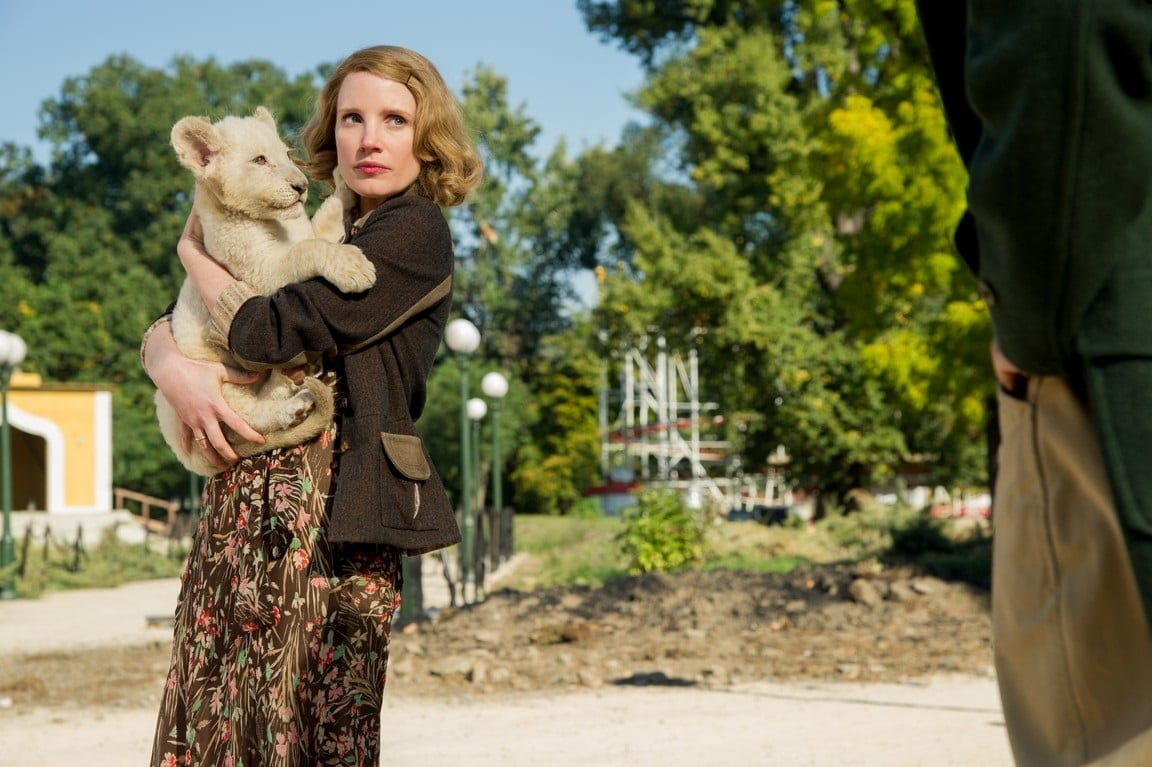 CinemaTivu: La Signora Dello Zoo Di Varsavia su Canale5