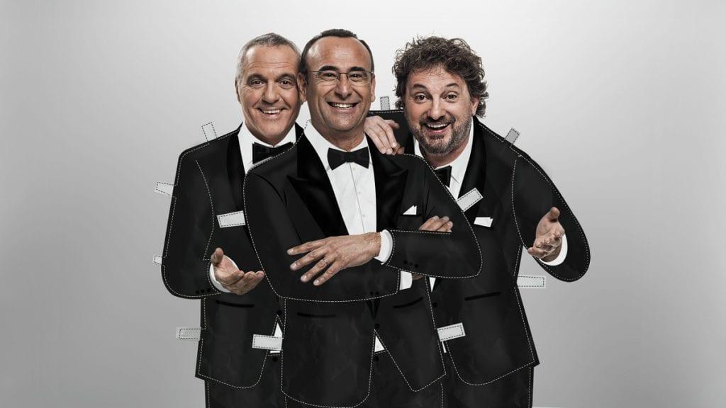 Live 14 febbraio: Panariello Conti Pieraccioni Lo show su Rai 1
