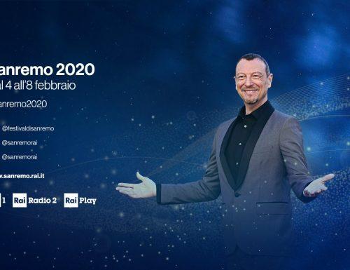 Live mercoledì 5 febbraio 2020: Festival di #Sanremo2020, seconda serata, con Amadeus, dall'access prime time su Rai1
