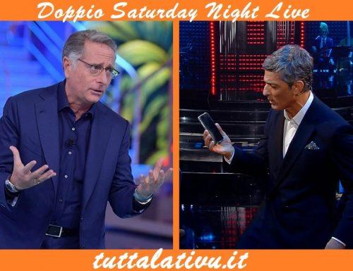 Doppio live sabato 21 marzo 2020: Viva RaiPlay! vs Ciao Darwin, Primo Atto. Fiorello (Rai1) sfida Bonolis (Canale5)