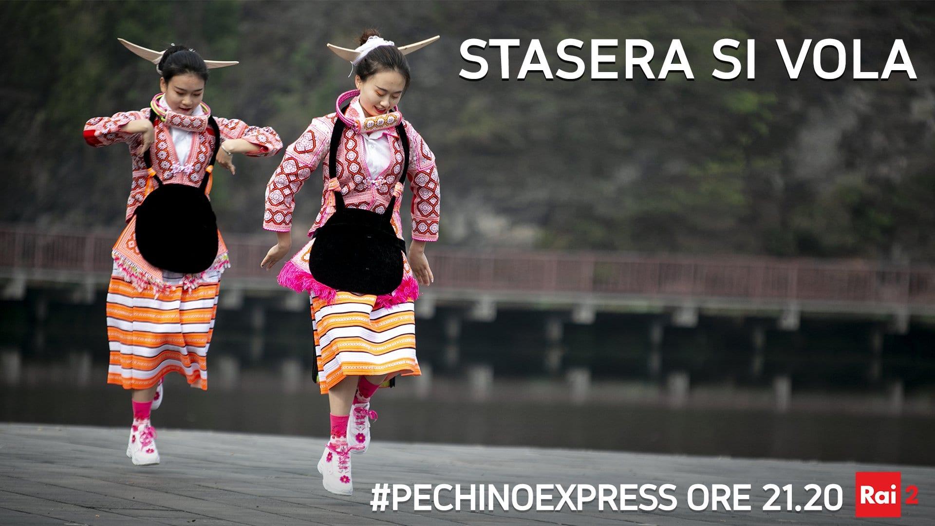 Live 24 marzo 2020: Pechino Express Settima puntata, con Costantino della Gherardesca, in prime time su Rai2. Prodotto con Banijay Italia