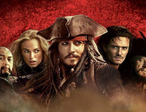 CinemaTivu: La saga Pirati dei Caraibi, con Ai confini del mondo (Usa 2007), con Johnny Depp, Keira Knightley e Orlando Bloom, su Canale 5