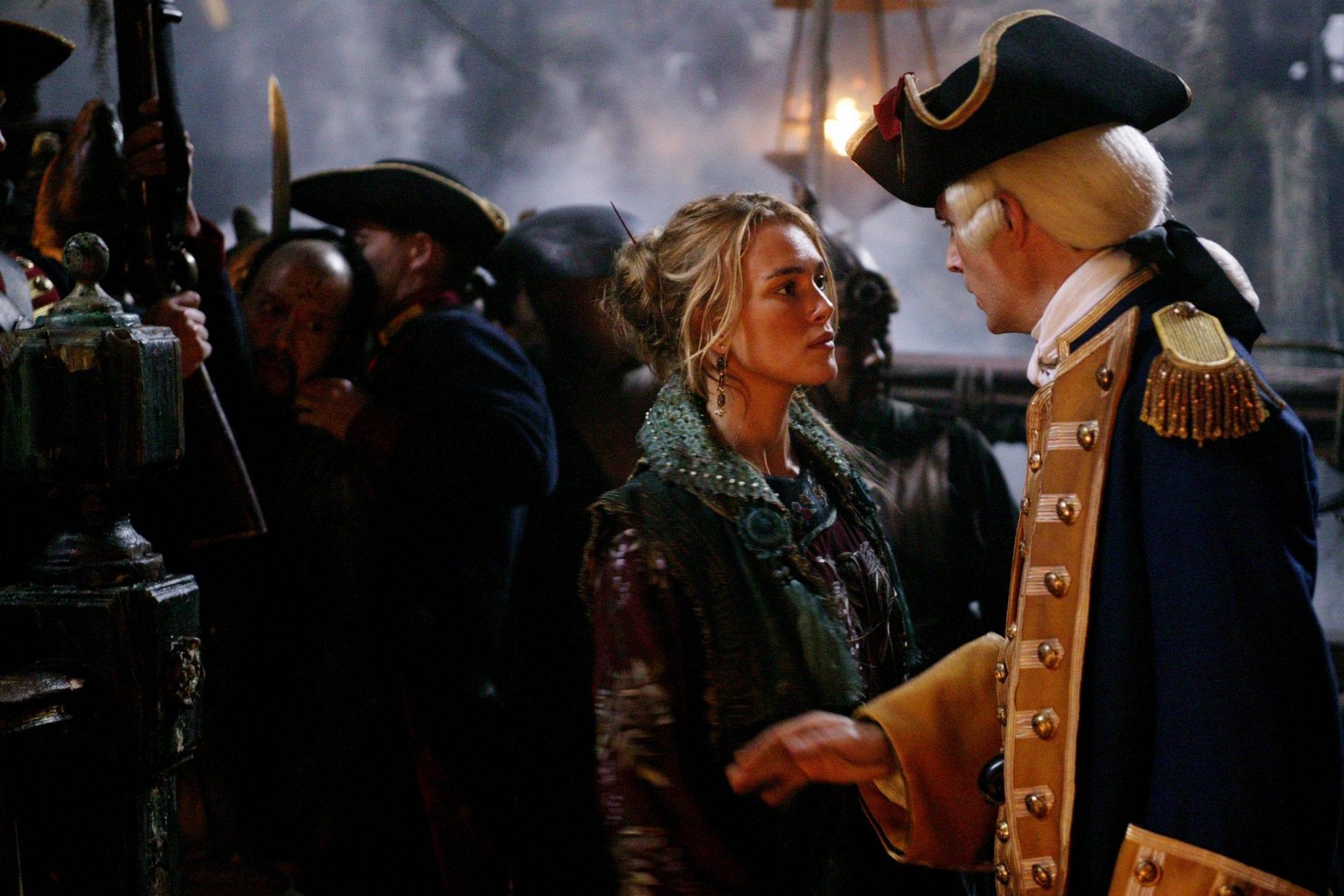 CinemaTivu: La saga Pirati dei Caraibi, con Ai confini del mondo (Usa 2007), con Johnny Depp, Keira Knightley e Orlando Bloom, su Canale5