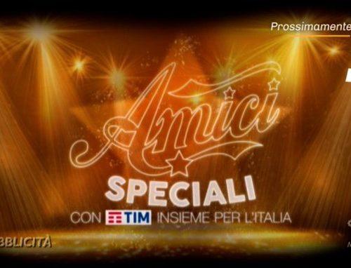 Su Canale5 arriva Amici Speciali – Insieme per l'Italia: in onda a metà maggio?
