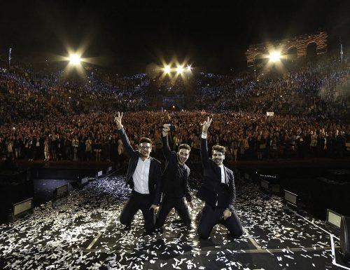 Il Volo: Un'avventura straordinaria, la replica del concerto tenuto all'Arena di Verona il 21 settembre 2015, su Rai1