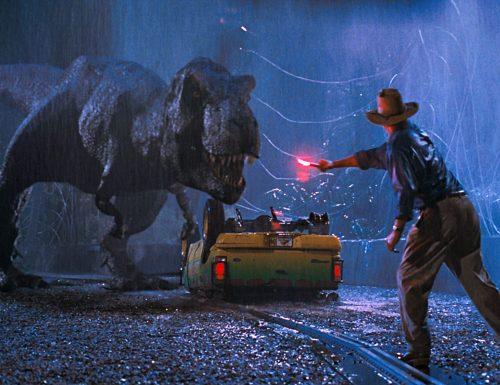 CinemaTivu: Parte la saga Jurassic Park (Usa 1993), con Sam Neill, Laura Derne, Jeff Goldblum, in prime time su Italia1