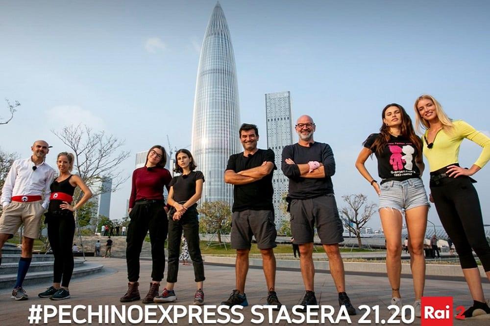 Live 7 aprile 2020: Pechino Express, nona puntata, con Costantino della Gherardesca, in prime time su Rai2