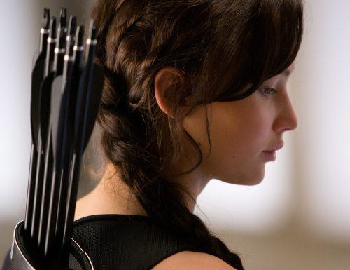 CinemaTivu: Hunger games: La ragazza di fuoco (Usa 2013), con Jennifer Lawrence, dall'omonimo romanzo di Suzanne Collins, su Italia1