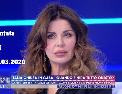 Alba Parietti ha avuto il coronavirus: che tra gli effetti del covid19 vada citata anche l'AMNESIA?