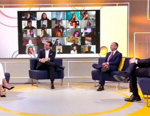 Da lunedì su Tv8 sbarcano Ogni Mattina con Adriana Volpe e Alessio Viola e il nuovo Tg8