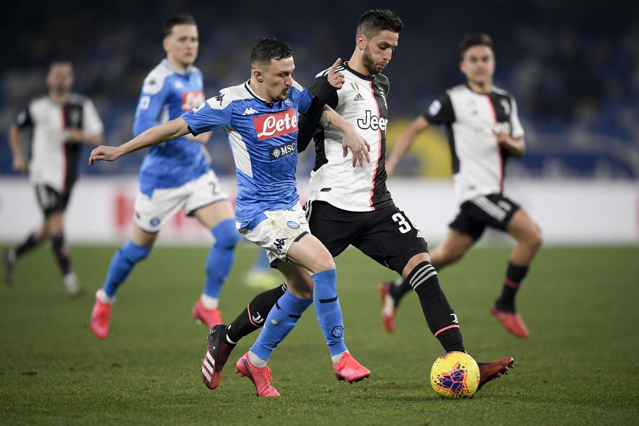 La finale di Coppa Italia, con Napoli vs Juventus