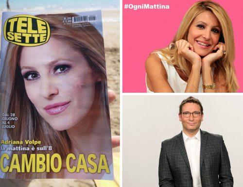 Conferenza stampa in diretta Facebook per la partenza di Ogni Mattina, su TV8.  Intanto su TeleSette, Adriana Volpe guadagna la copertina