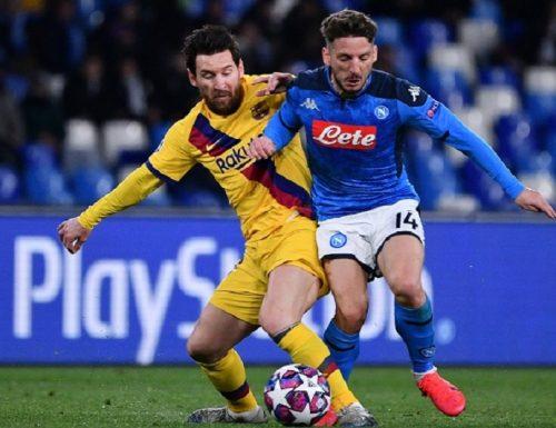 Live 8 agosto 2020: Seconda serata di Champions League. Dopo la disfatta della Juventus contro il Lione, tocca a Barcellona vs Napoli: gli appuntamenti su Canale 5
