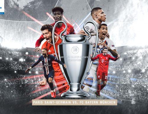 Live 23 agosto 2020: il giorno della finale di #ChampionsLeague con #PsgBayern Monaco #PSGFCB. In prime time su Canale5 e Sky Sport