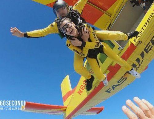 Da oggi alle 13.45 su #Italia1 la nuova edizione di #giùin60secondi – Adrenalina ad alta quota