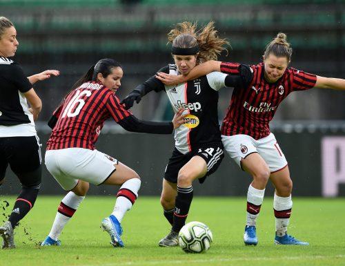 Per la prima volta Serie A femminile a San Siro: stasera c'è #MilanJuventus, live su #Sky e #TimVision