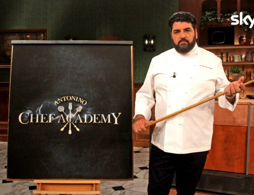 Da stasera, alle 21.15 su SkyUno, torna l'appuntamento con Antonino Chef Academy, con Antonino Cannavacciuolo