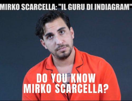 """Stasera su #Italia1 lo speciale de #leiene """"La leggenda del guru di Instagram: do you know Mirko Scarcella?"""""""