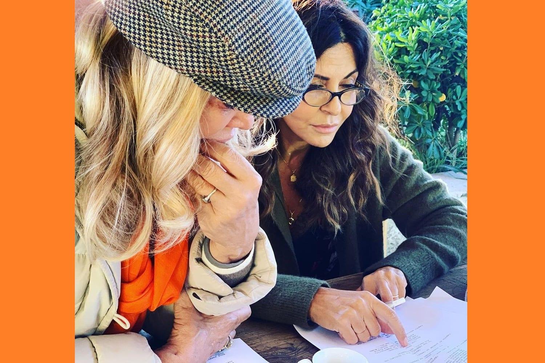 Partite le riprese de La donna del vento, la nuova fiction di Canale5, con Sabrina Ferilli, scritta da Simona Izzo e Ricky Tognazzi