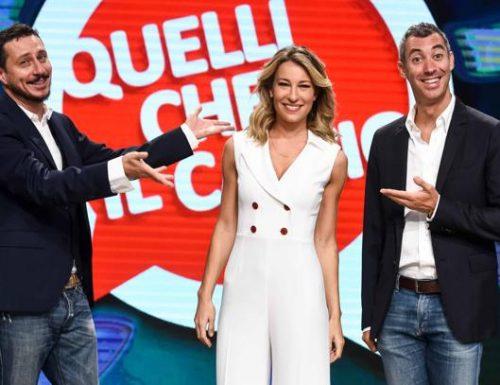 Da questo pomeriggio, su RaiDue, torna il programma Quelli che il calcio: confermati Mia Ceran, Luca Bizzarri e Paolo Kessisoglu