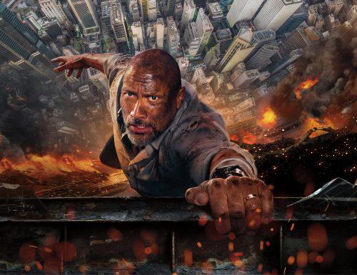 CinemaTivu · Skyscraper (Usa 2018), diretto da Rawson Marshall Thurber, con Dwayne Johnson (The Rock), in prima visione tv free, su Canale5