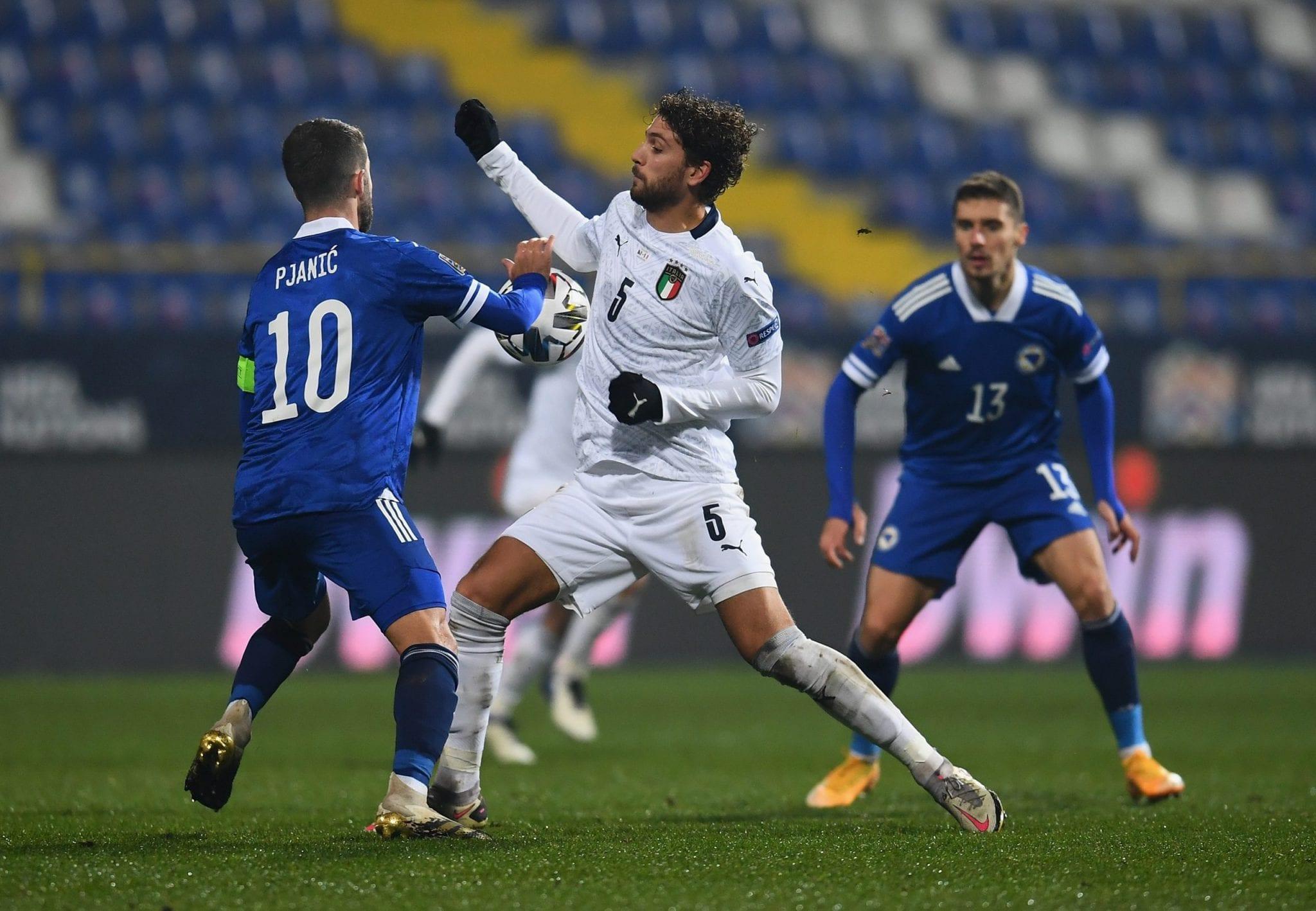 AscoltiTV 18 novembre 2020 · Bosnia vs Italia in Nation League, tra All together now, Chi l'ha visto?, All Together Now, X-Factor 14, il GFVip