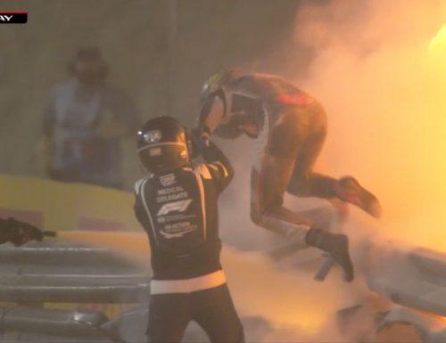 Video del terribile incidente in Formula1 nel GP del Bahrain! L'auto di Romain Grosjean è esplosa e il pilota ne è uscito miracolosamente indenne