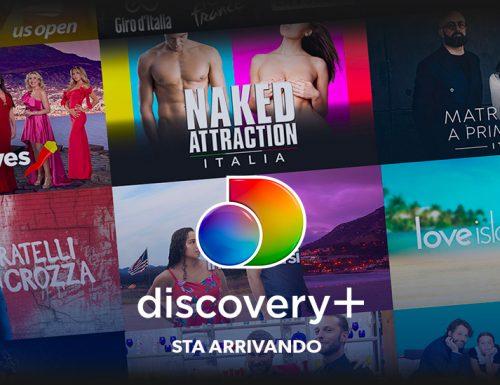 Arriva #Discovery+ dal 4 gennaio 2021. La grande novità del nuovo anno sarà lo sbarco della piattaforma online del gruppo Discovery
