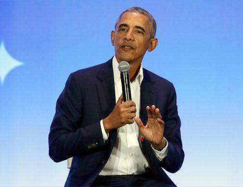 #BarackObama da Fazio a #CheTempoCheFa. Ospite esclusivo per un'intervista che avrà per tema la sua autobiografia Una terra promessa