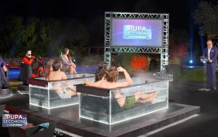 Live 4 febbraio 2021 · La Pupa e il Secchione terza puntata. Con Andrea Pucci e Francesca Cipriani, in onda in prima serata su Italia1