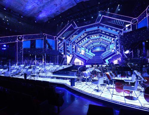 Gaetano e Maria Castelli raccontano la spettacolare scenografia di #Sanremo2021