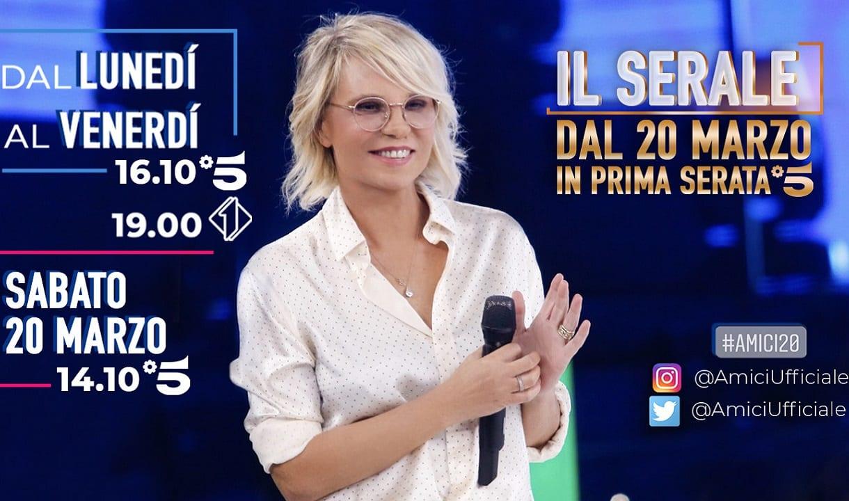 Live 20 marzo 2021 · Amici 20 ultima puntata speciale. Con Maria De Filippi ogni sabato pomeriggio, in onda alle ore 14.10 su Canale5