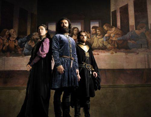 Fiction Club · Leonardo, primo appuntamento. Con protagonista Aidan Turner, in prima visione assoluta, in anteprima mondiale su RaiUno