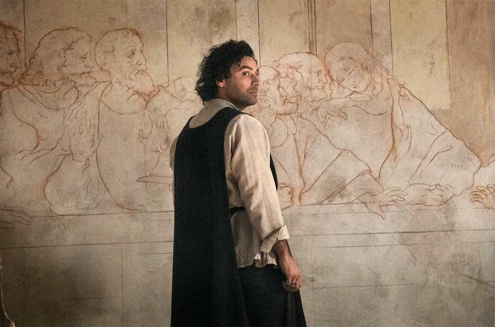 Fiction Club · Leonardo primo appuntamento. Con protagonista Aidan Turner, in onda in prima visione assoluta, in anteprima mondiale su RaiUno