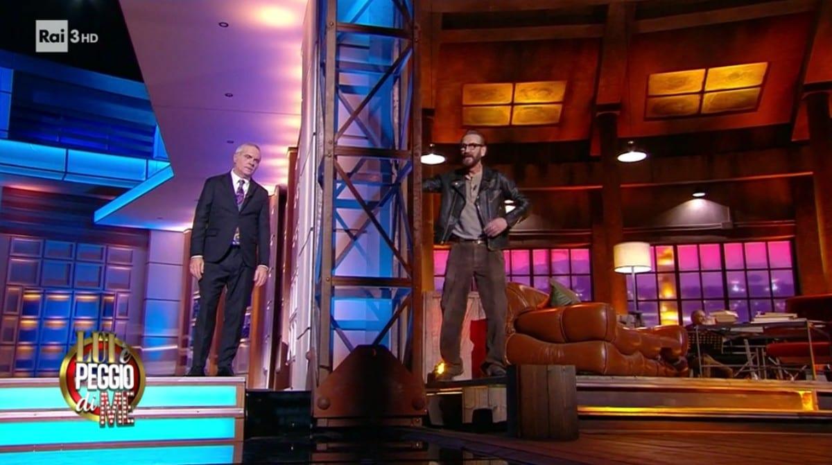 Live 11 marzo 2021 · Lui è peggio di me ultima puntata. Con Marco Giallini e Giorgio Panariello, in onda in prima serata su RaiTre