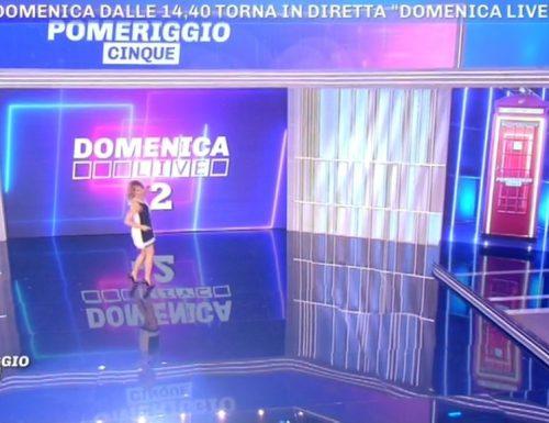"""Domani torna Domenica Live dalle 14.40. Barbara D'Urso rivela a Pomeriggio 5: """"Ci sarà un esperimento di meta televisione""""!!"""