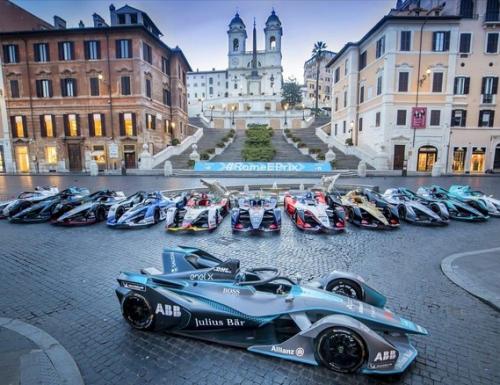 #FormulaE, oggi e domani su #Italia1 l'#EPrix di Roma: ecco il programma completo