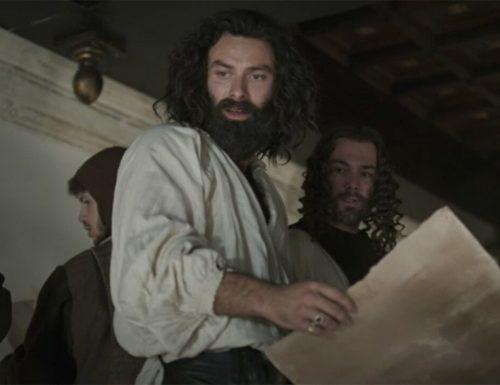 Titoli di coda · Leonardo, ultimo appuntamento. Con protagonista Aidan Turner, in prima visione assoluta, in anteprima mondiale su RaiUno