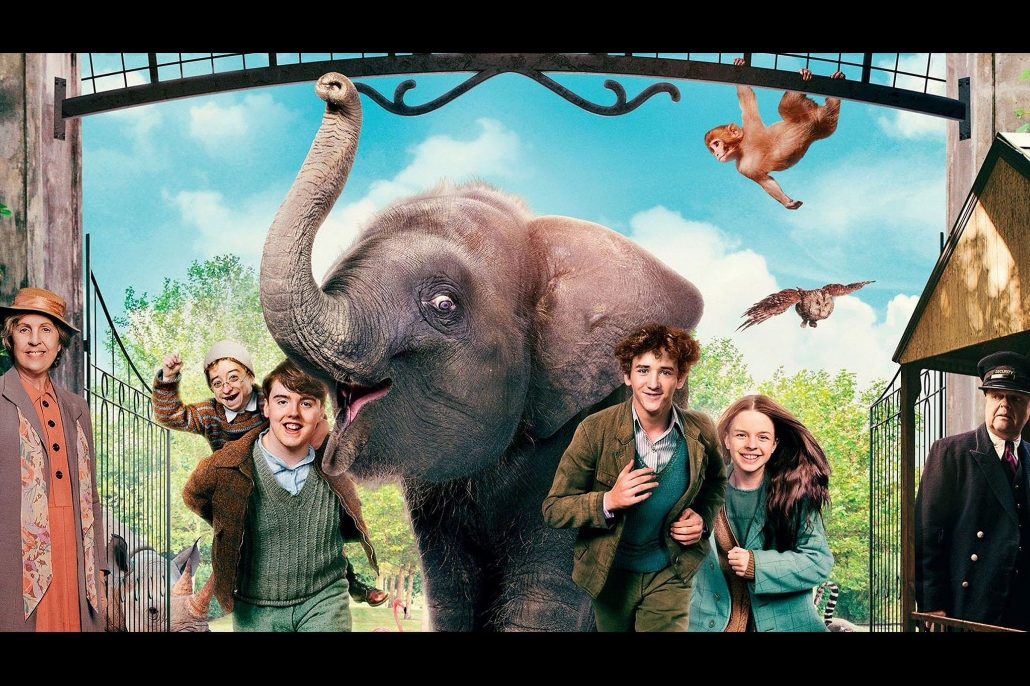 CinemaTivu: Zoo: Un amico da salvare (Uk, Irl 2018), con Art Parkinson, diretto da Colin McIvor, in onda in prima tv, in prime time su Canale5