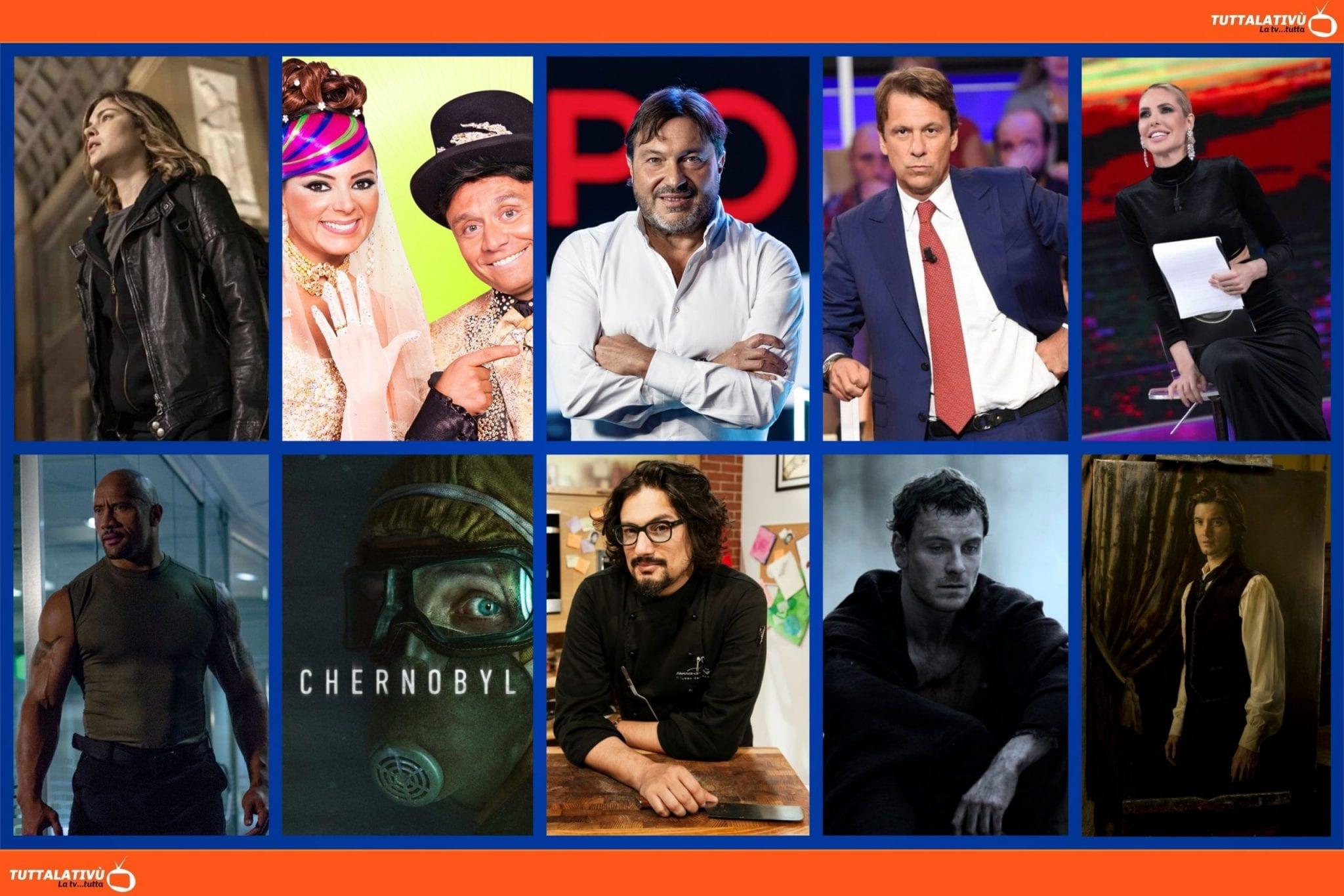GuidaTV 26 Aprile 2021 · La fuggitiva, L'isola dei famosi, Report, Quarta Repubblica, la serie Chernobyl, Quattro Ristoranti, Centurion, Dorian Gray