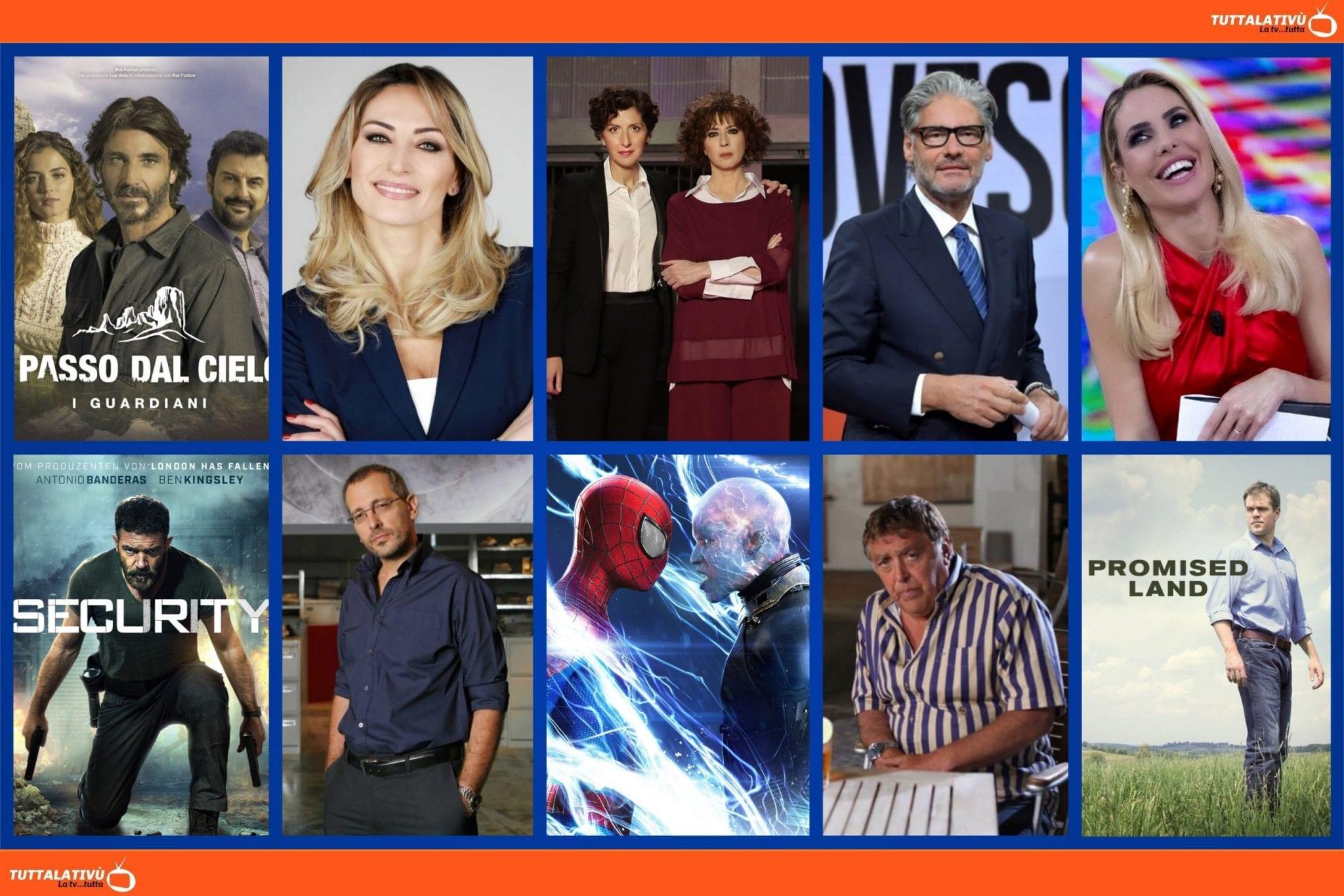 GuidaTV 22 Aprile 2021: Un passo dal cielo, L'isola dei famosi, la nuova edizione di Amore Criminale, Dritto e Rovescio, Piazzapulita, Promised Land