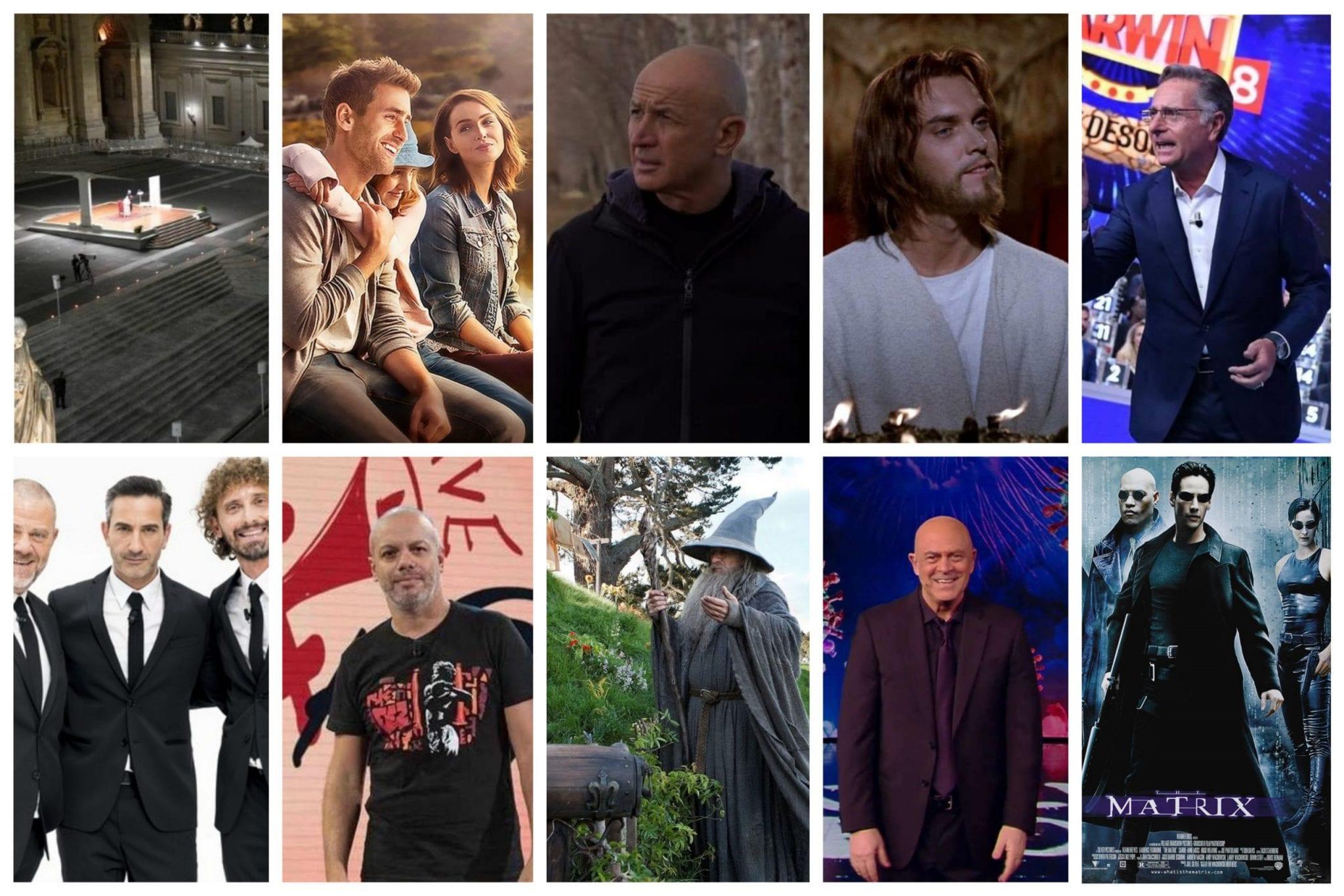 GuidaTV 2 Aprile 2021: Il Rito della Via Crucis, Ciao Darwin, Le Iene, Quello che veramente importa, Il Re dei Re, L'Odissea, Propaganda Live, Matrix