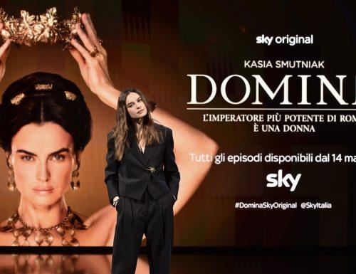 Da venerdì su #Sky e #Now al via #Domina, la nuova serie tv con Kasia Smutniak